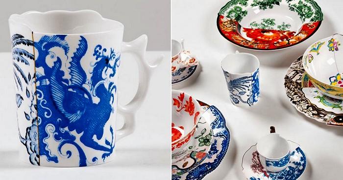 Странная посуда Hybrid Collection. Восток и Запад рядом