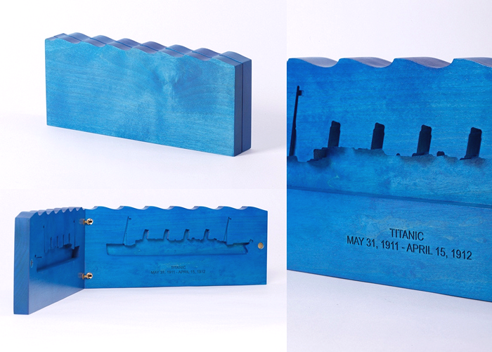 Титаник. Экспонат арт-проекта Icons of the past от Mejd Studio