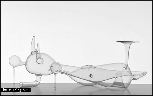 Стеклянные скульптурно-архитектурные инсталляции от El Ultimo Grito