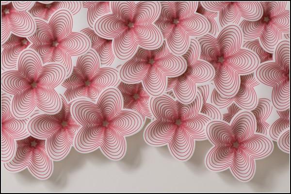 Инсталляции из майлара от Ими Вангбо (Imi Hwangbo)