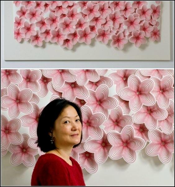 Корейский минимализм из упаковочных материалов
