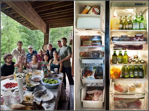 Заглянем в чужой холодильник? Проект In Your Fridge