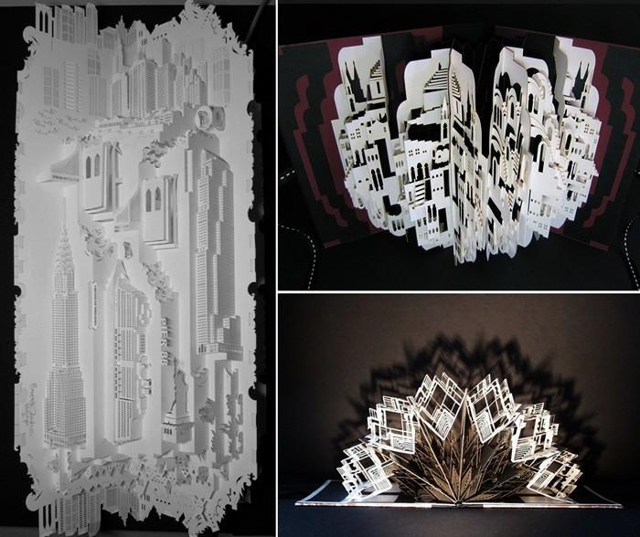 Бумажные шедевры современной архитектуры от Ингрид Силиакус (Ingrid Siliakus)