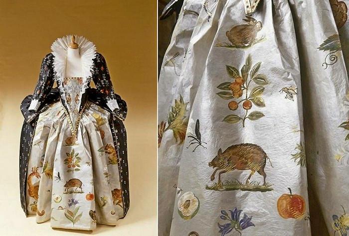 Старинные платья, сделанные из бумаги. Творчество Isabelle de Borchgrave