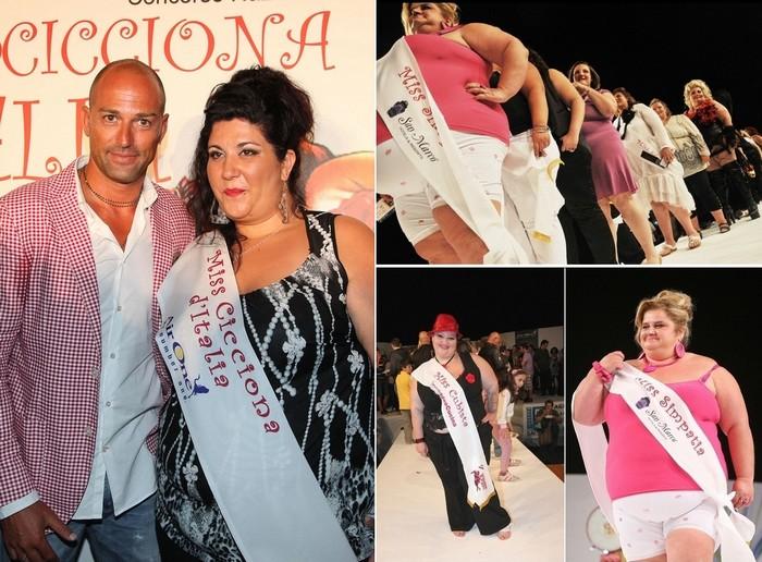 Miss Cicciona, конкурс красоты для толстых женщин