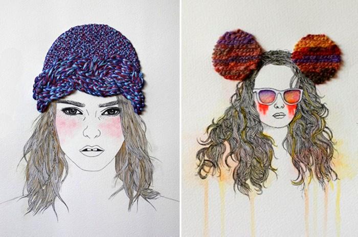 ������� � ������ � ��������. Mixed media �� Izziyana Suhaimi