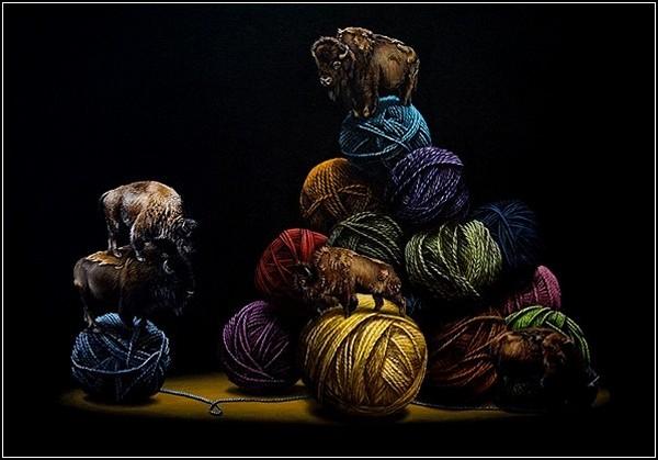 Теория струн в искусстве. Картины Якуба Ганьона (Jacub Gagnon)