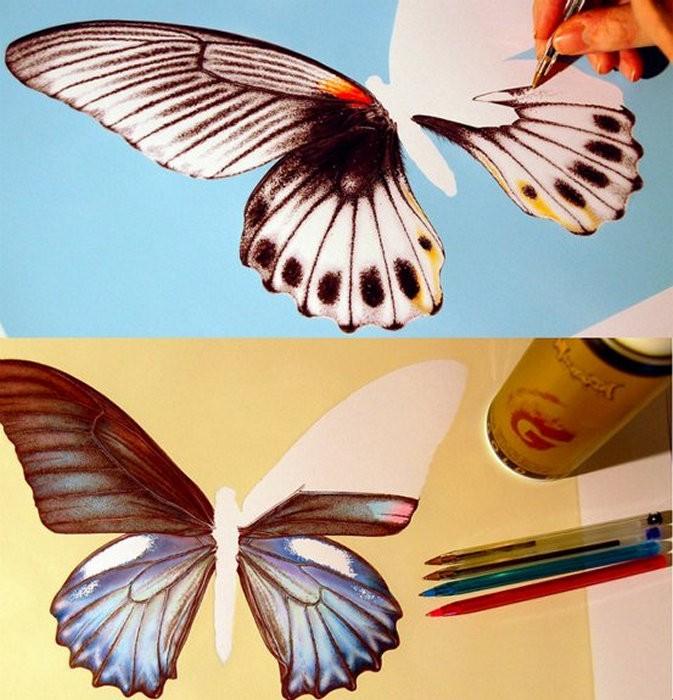 Невероятная живопись шариковой ручкой. Картины от James Robert Mylne