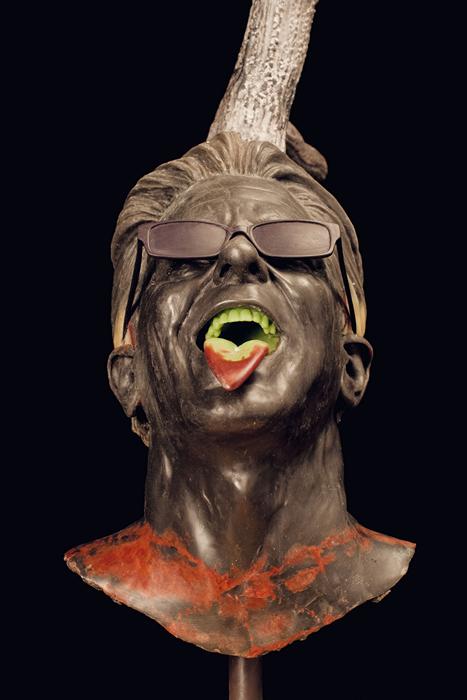 CHAPTERS I - XVIII. Восковые и бронзовые рогоносцы в странных скульптурах Ян Фабра (Jan Fabre)