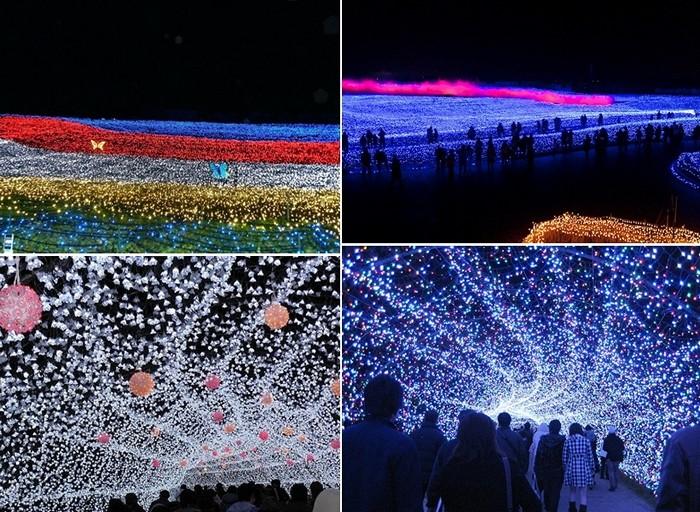 Tunnel of Lights: самая большая световая инсталляция в мире