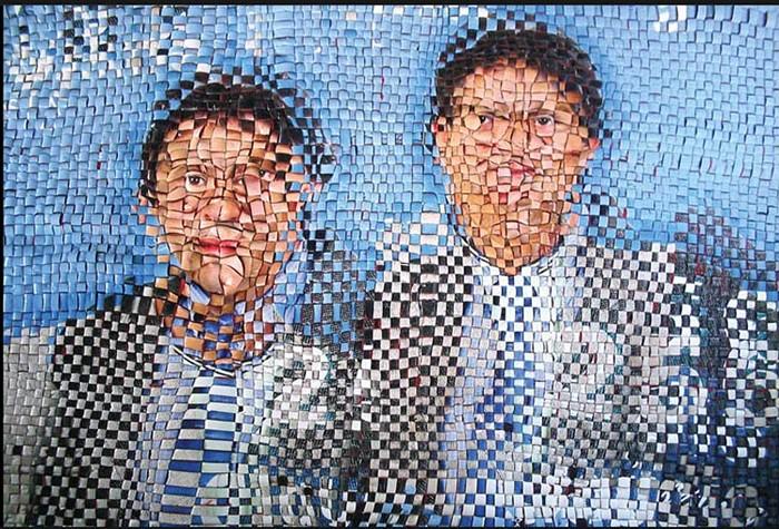 O Debate, сюрреалистические портреты политиков от Jarbas Lopes