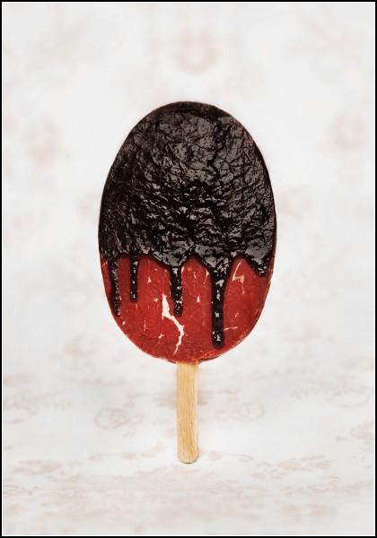 Sweet Meat от Жасмин Шуллер (Jasmine Schuller). Десерты-иллюзии из сырого мяса