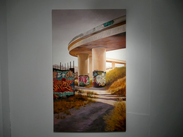 Стрит-арт на нарисованных улицах