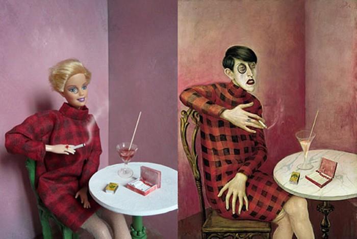 Barbie ma muse, арт-проект художницы Jocelyne Grivaud