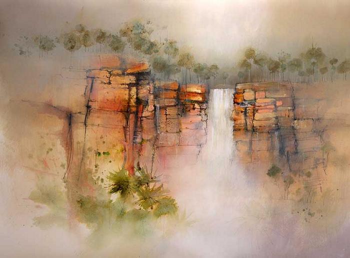 Чудесные пейзажи в акварелях Джона Ловетта (John Lovett)