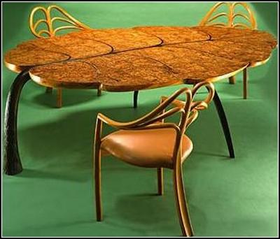 Удивительная деревянная мебель от Джона Мэйкписа (John Makepeace)