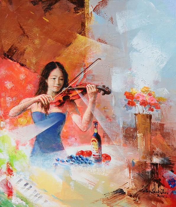 Девушки в живописи современных художников фото 552-929