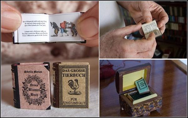 Крошечные книги. Странная библиотека Джозефа Тари (Jozsef Tari)
