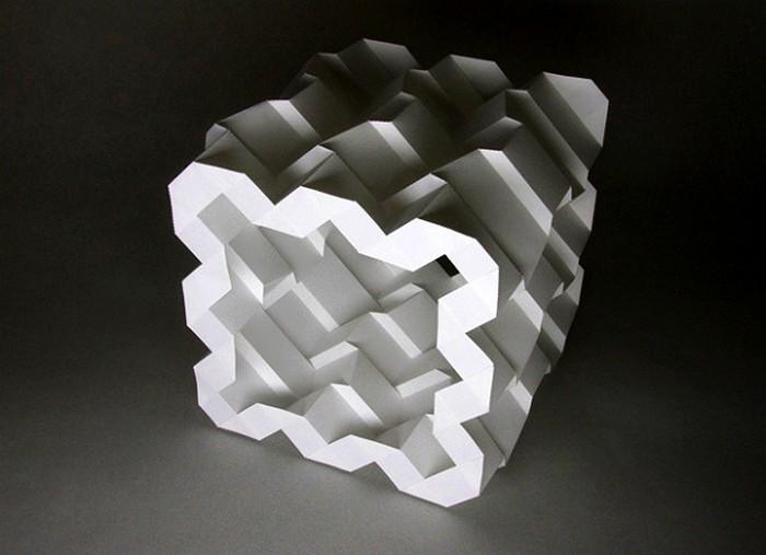 Трехмерные осесимметрические оригами Джуна Митани (Jun Mitani)