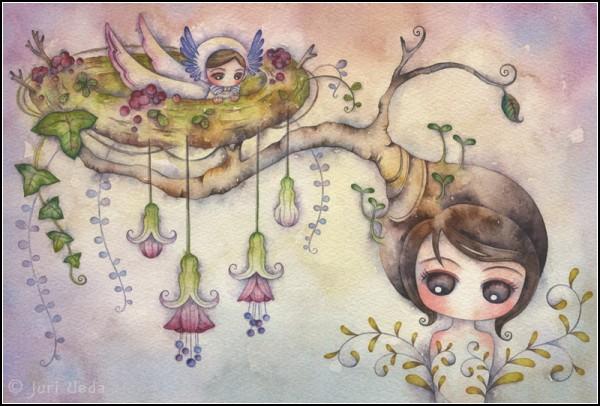 Нежные акварельные миры Юри Уэда (Juri Ueda)