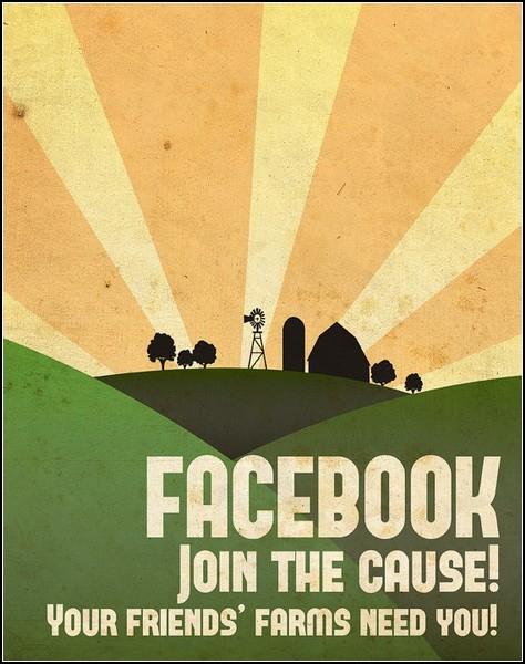 Регистрируйся на Фейсбуке, помоги другу вырастить урожай