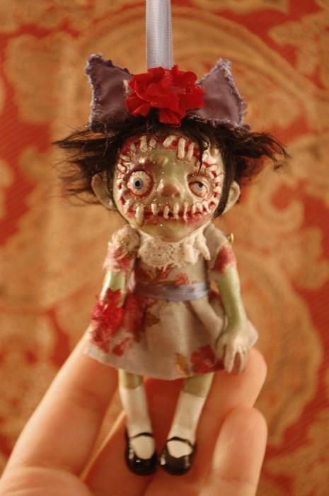Как сделать зомби куклу