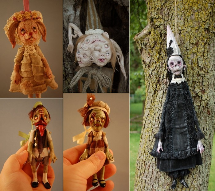Куклы-зомби, куклы-монстры, куклы-трупы от Камиллы Млынарчик