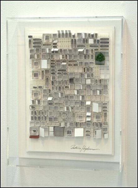 Футуристические бумажные строения от японского дизайнера