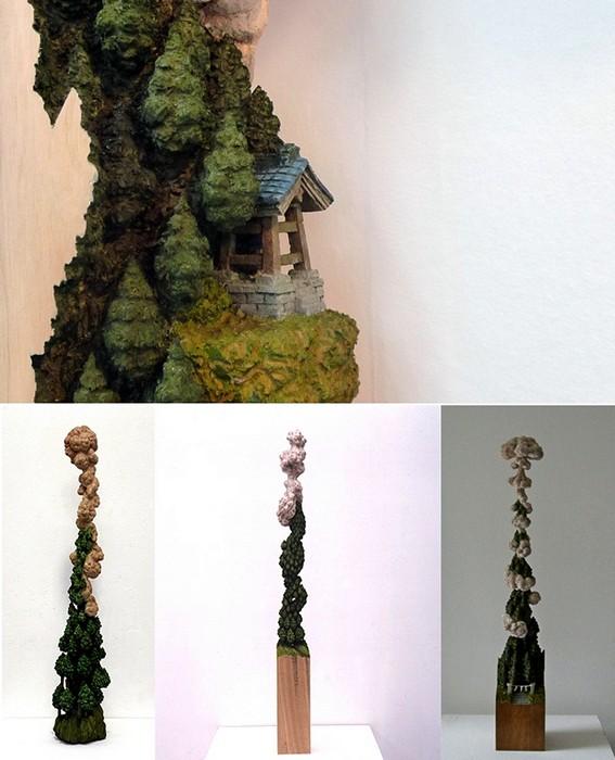 Удивительные скульптуры Keisuke Tanaka, вырезанные из цельных кусков дерева