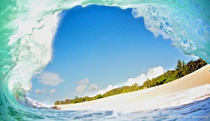 Стихия океана. Удивительные фотографии волн Кенжи Кромана (Kenji Croman)