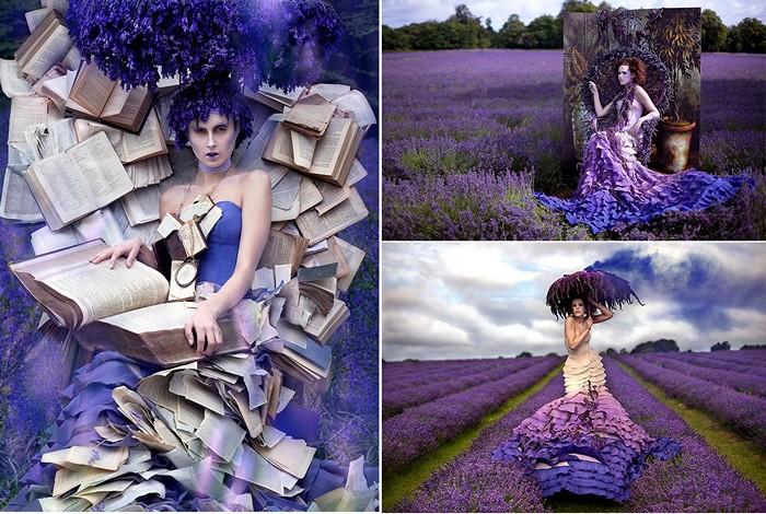 Сказочные образы в фотографиях Kirsty Mitchell