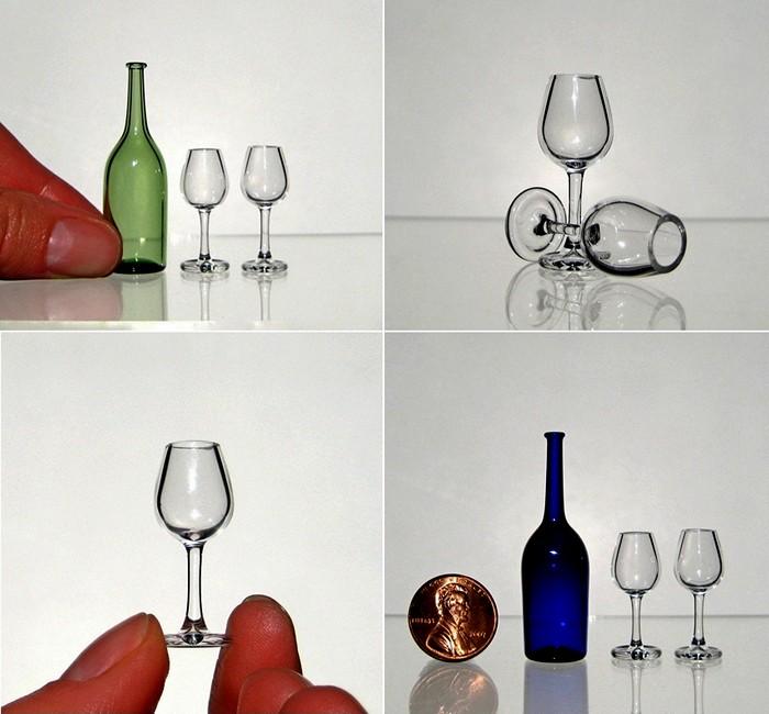 Крошечные вазы и бокалы от Кивы Форда (Kiva Ford)