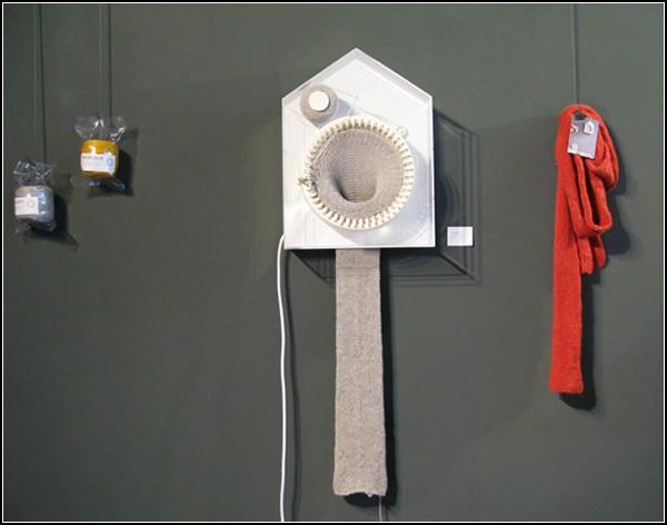 365 Knitting Clock, или Шарф, сотканный из времени