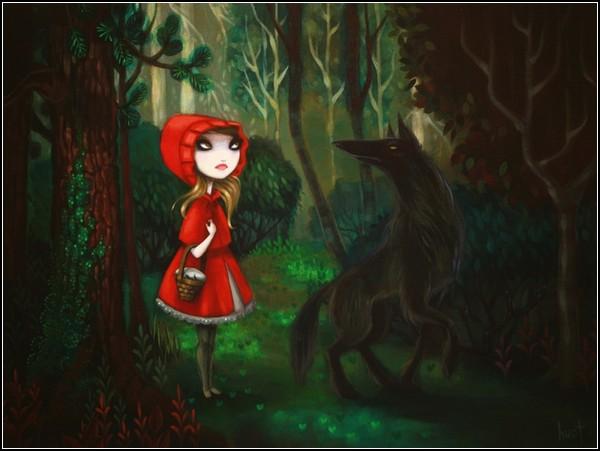 Другая версия Красной Шапочки
