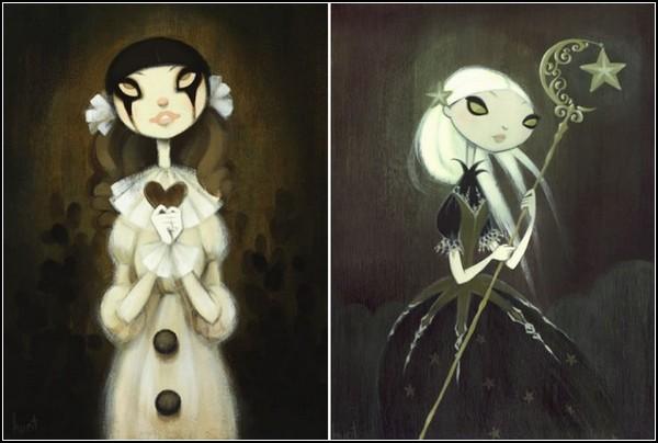 Сказочные картины Кристы Хуот (Krista Huot)