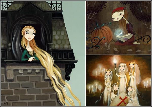 Знакомые-незнакомые сказочные картины Кристы Хуот (Krista Huot)