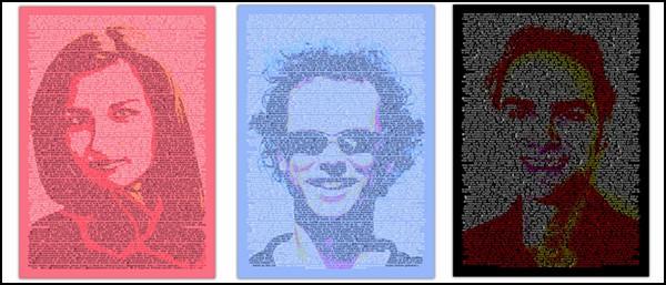 Twitter Portraits от студии Kunst Buzz