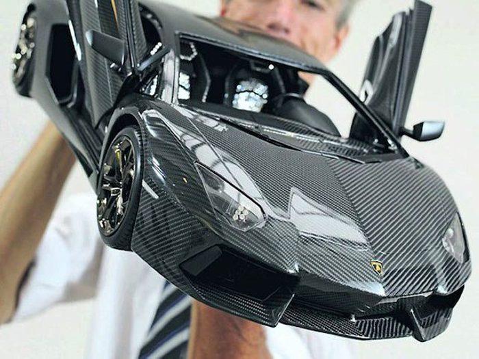 Самая дорогая в мире копия Lamborghini Aventador от Роберта Гюлпена (Robert Gulpen)