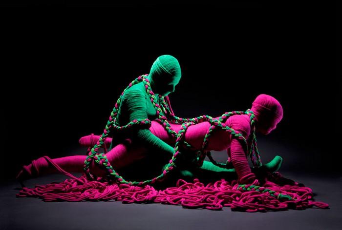 Эротическая инсталляция Lana Sutra для United Colors of Benetton