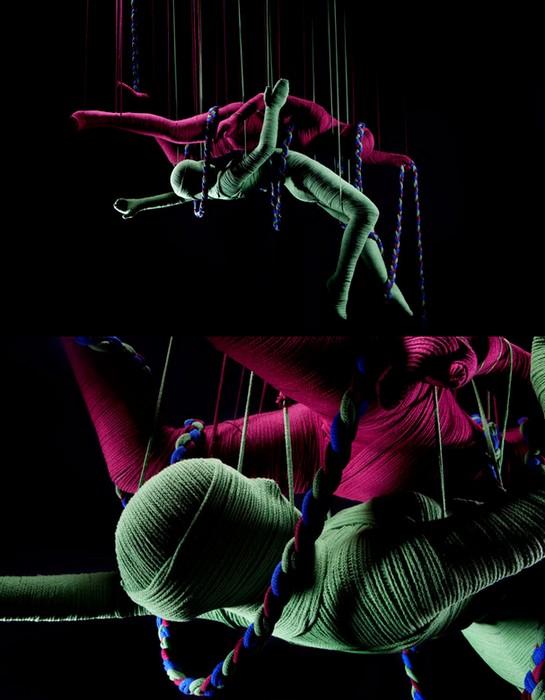 Lana Sutra, серия эротических скульптур для United Colors of Benetton