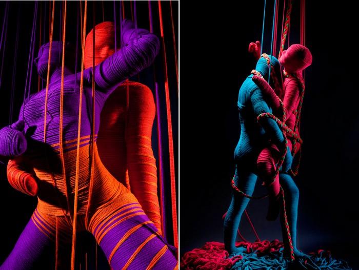 Эротическая инсталляция Lana Sutra от Erik Ravelo