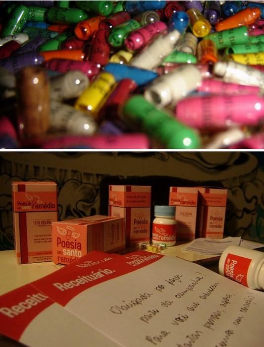 Медицина плюс литература. Арт-проект Poesia um Santo Remedio для раненых сердец