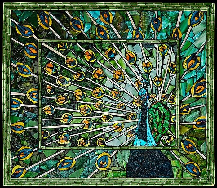 Волшебные мозаики Лоры Харрис (Laura Harris), художницы с рассеянным склерозом