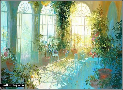 Потрясающие картины Лорана Парселье