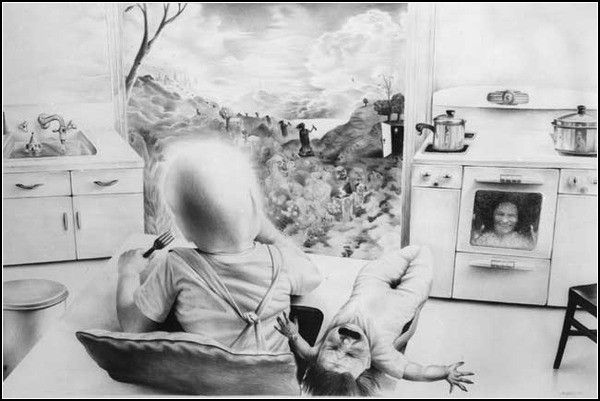 *Дарк арт* от светлой и доброй художницы Лори Липтон (Laurie Lipton)