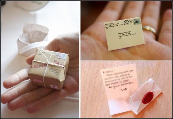 World's Smallest Postal Service. Микро-письма от Лии Редмонд