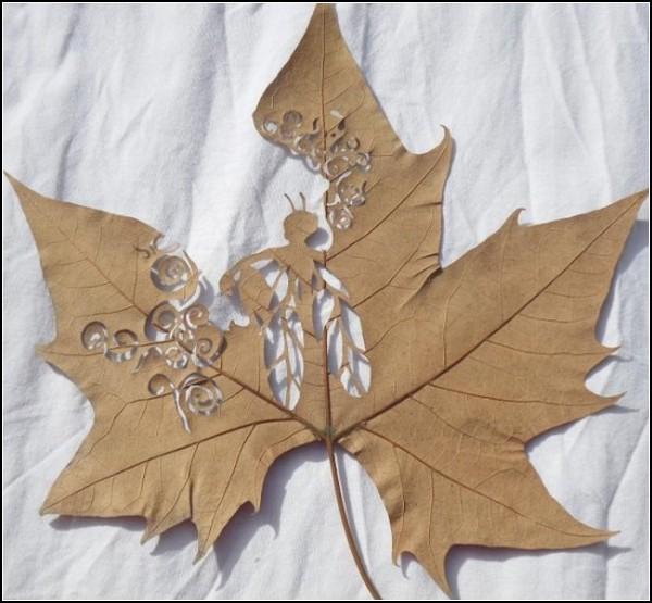 Резьба по листьям Лоренцо Дюрана (Lorenzo Duran)