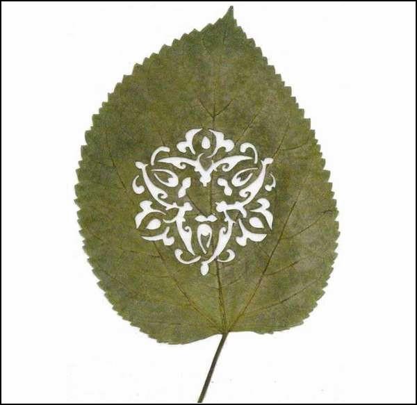 Leaf Art. Резьба по листьям Лоренцо Дюрана (Lorenzo Duran)