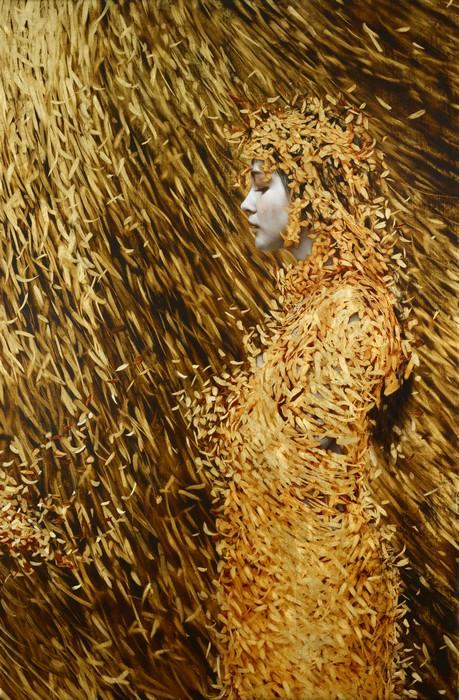 Вдохновение золотой осени в портретах Брэда Канкла