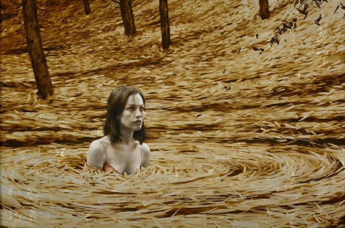 Таинственные незнакомки, окутанные осенней листвой. Пртреты Брэда Канкла